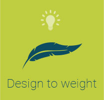 Visuel Design to weight
