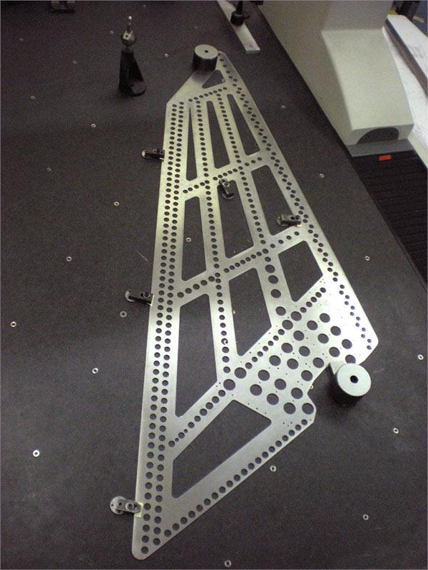COMEFOR : grille de perçage l111